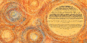 The Sweet Hive Mosaic Ketubah