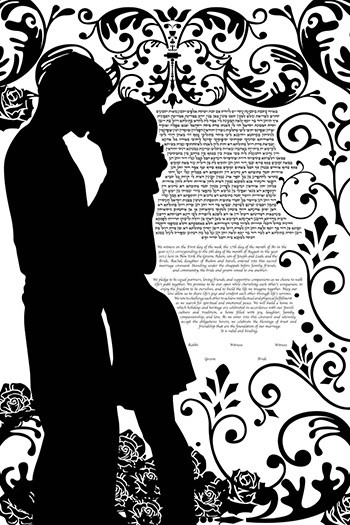 The Romantic Ketubah