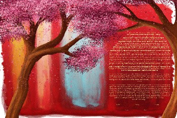 The Rothko Blooms Ketubah