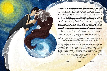 The Night Waltz Ketubah
