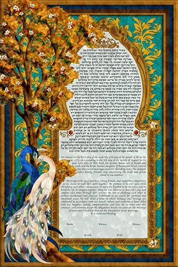 The Birds Of Par­adise Ke­tubah