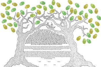 The Love En­twined Ke­tubah