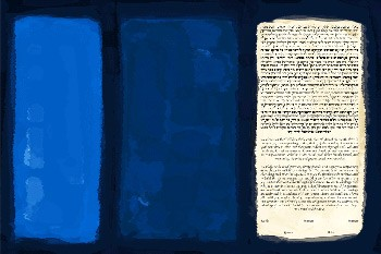 The Blue No. 18 Ke­tubah