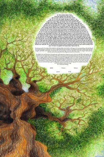 The Tree Love Ke­tubah